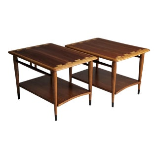 Lane Mid-Century Acclaim Side Tables - A Pair