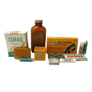 Vintage First Aid Kit Accessories