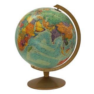 1970s Replogle Vintage Globe