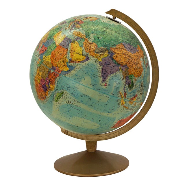1970s Replogle Vintage Globe - Image 1 of 4
