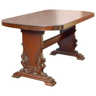 Swedish Neo-Egyptian Desk or Writing Table by SMF, circa 1920
