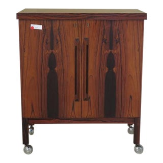 Bruksbo Mid-Century Modern Rosewood Bar Cabinet