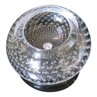 Vintage Bullicante (Controlled Bubble) Low Vase