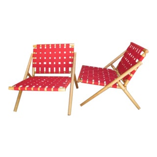 1960s Beach Chairs - A Pair