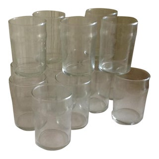 Vintage Diner Glasses - Set of 15