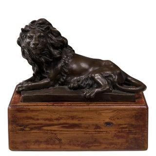 Sarreid LTD Reclining Bronze Lion