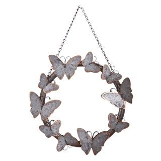 Butterfly Hanging Wall Mirror