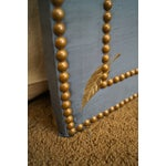 Image of Quality Upholstered Tall Folding Screen