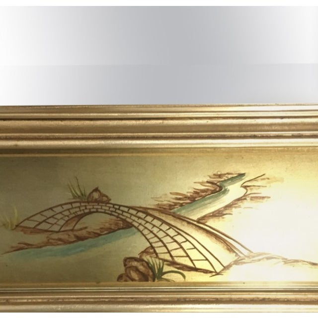 Image of La Barge Chinoiserie Motif Mirror