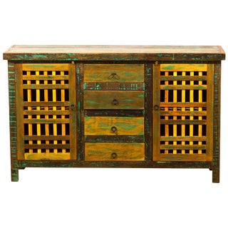 Buffet Sideboard Eco-Friendly Reclaimed Solid Wood