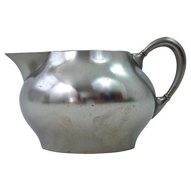 Pewter Teapot Sugar And Creamer - Set of 3 - Image 4 of 7