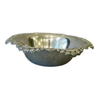 Tiffany & Co. Silver Hollowware Clover Pattern Bowl