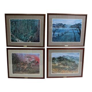 Set of Four Limited Run Framed Vietnam War Poster/Prints