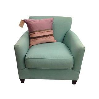 Custom HypoAllergenic Club Chair by Crate & Barrel