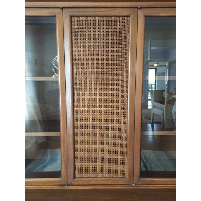 Mid Century John Stuart Credenza China Hutch - Image 4 of 5
