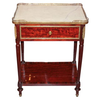Antique Regence Mahogany Side Table