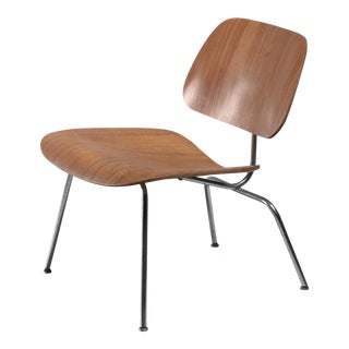 LCM chair in walnut by Charles Eames for Herman Miller, 1950s