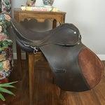 Image of Vintage English Equestrian Saddle