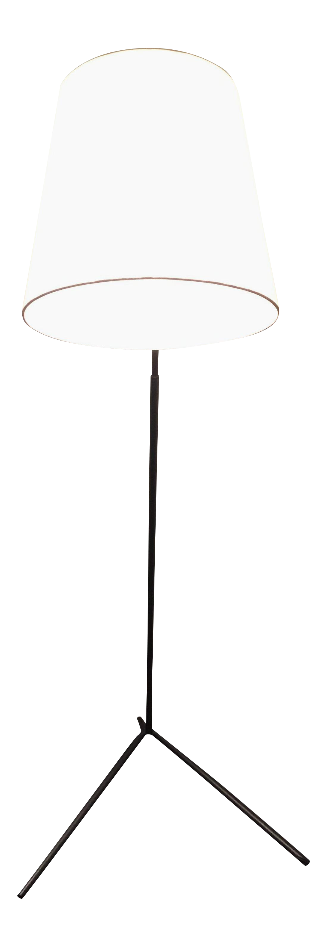 Image Of Crate U0026 Barrel Angle Pewter Floor Lamp