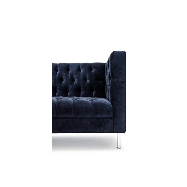 Slipcover Tuxedo Sofa: Clad Home Tufted Tuxedo Sofa