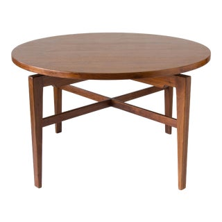 Jens Risom Lazy Susan Game Table