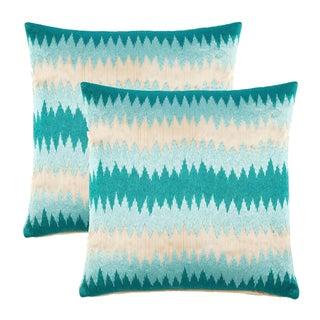 John Robshaw Poro Pillows - A Pair