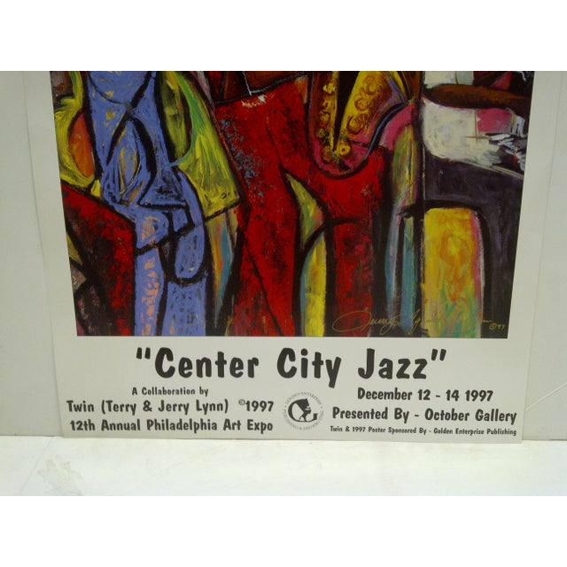 1997 Center City Jazz Poster - Image 5 of 6