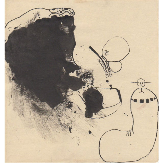Lot of 4 Original B&W Abstract by Bill Geiss 1963 - Image 3 of 5