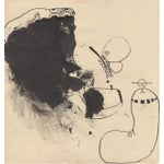 Image of Lot of 4 Original B&W Abstract by Bill Geiss 1963