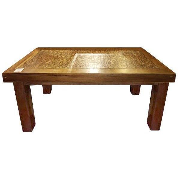 Cork Teak Dining Table Chairish