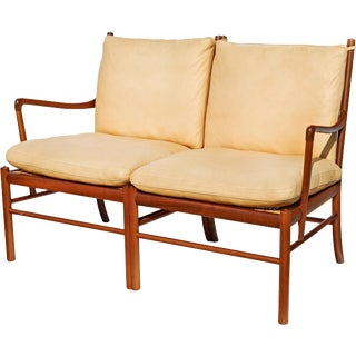 """Colonial"" Settee by Ole Wanscher"