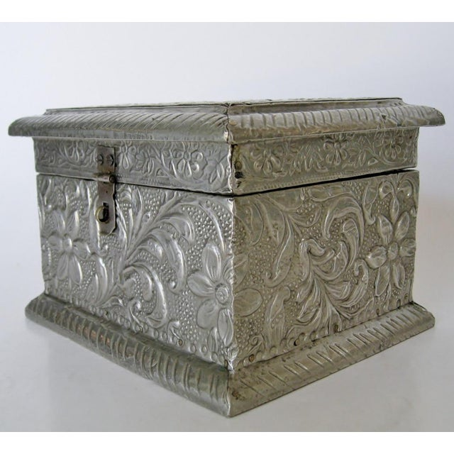Vintage Embossed Keepsake Box - Image 6 of 8