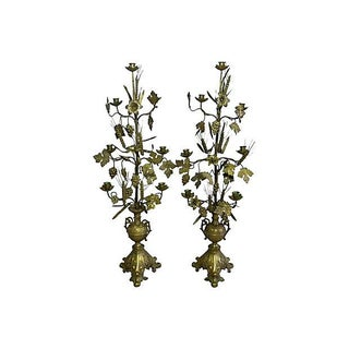 French Gilded Candelabras - A Pair
