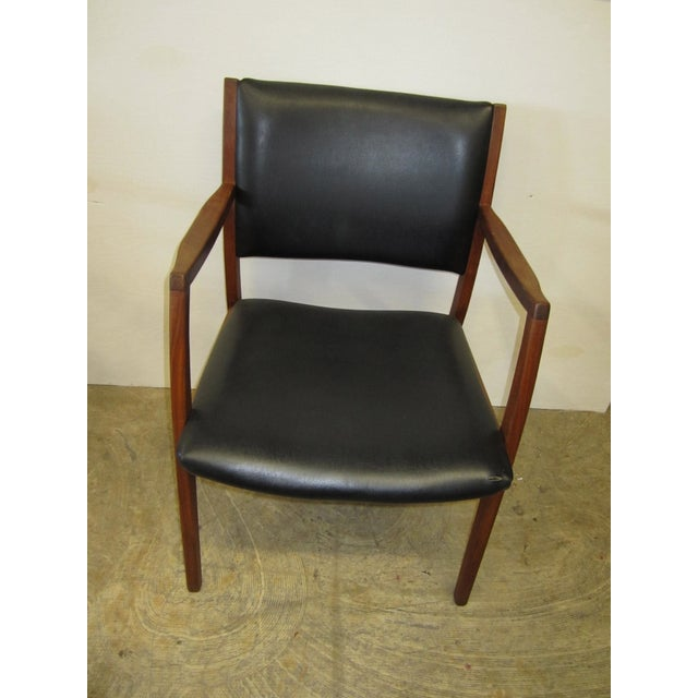 Jens risom mid century side arm chair pair chairish - Jens risom side chair ...