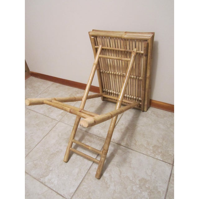 Bamboo & Rattan Table Tray - Image 9 of 11