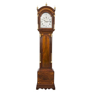 Georgian Tall Case Clock by J W Clarke, Circa 1770