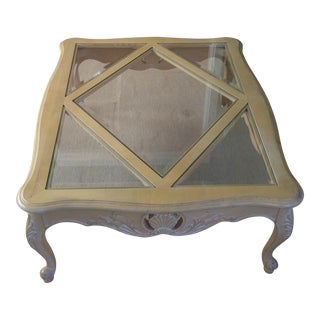 Ethan Allen Country French Style Coffee Table
