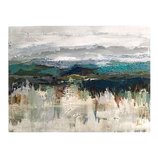 Evergreen Acrylic Landscape