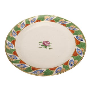 """Oval """"famille verte"""" platter from Ming period China c.1770"""