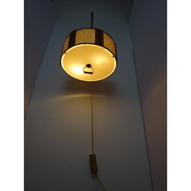 Danish Modern Gerald Thurston Adjustable Wall Lamp - Image 5 of 9