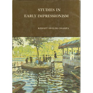 Studies in Early Impressionism