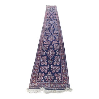 Persian Hand Knotted Runner- 2′6″ × 20′