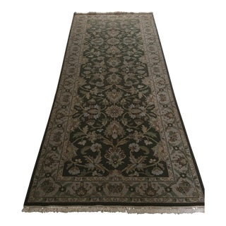 Hand Knotted Runner - 4' x 10'