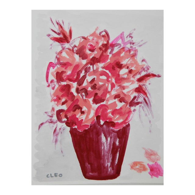 Abstract Floral Bouquet by Cleo - Image 1 of 3