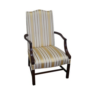 Federal Style Mahogany Lolling Arm Chair