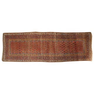 """Antique Seraband Carpet Runner, 3'9"""" x 9'8"""""""