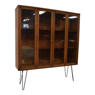 Mid-Century Walnut Bookcase
