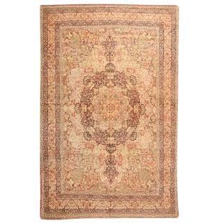 Antique 19th Century Persian Lavar Carpet