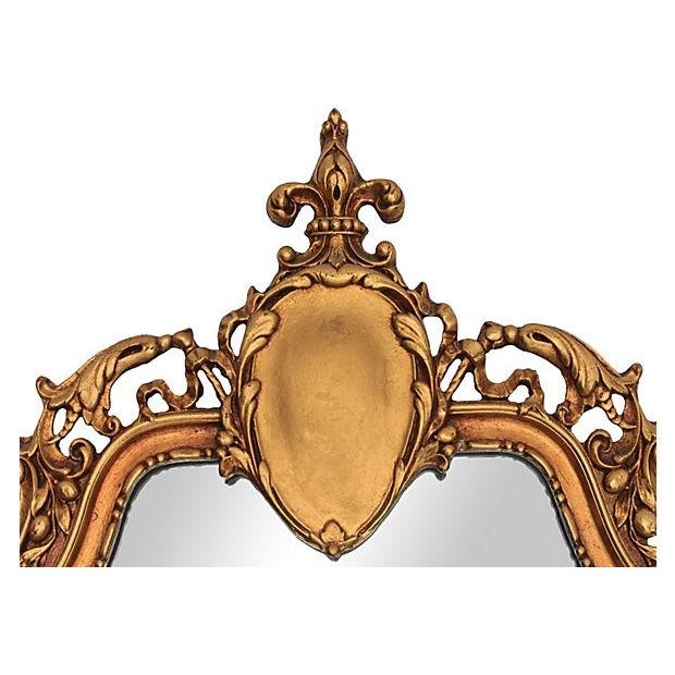 Louis XV Style Carved Giltwood Mirror - Image 2 of 6