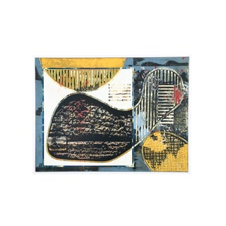 Ameba by Aric Frons (Framed Original Mixed Media Artwork on Panel)